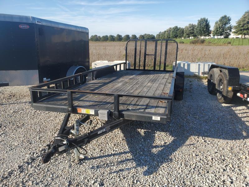 USED 2013 PJ Trailers UL18 Utility Trailer 83x18 TA (GVW: 7000)