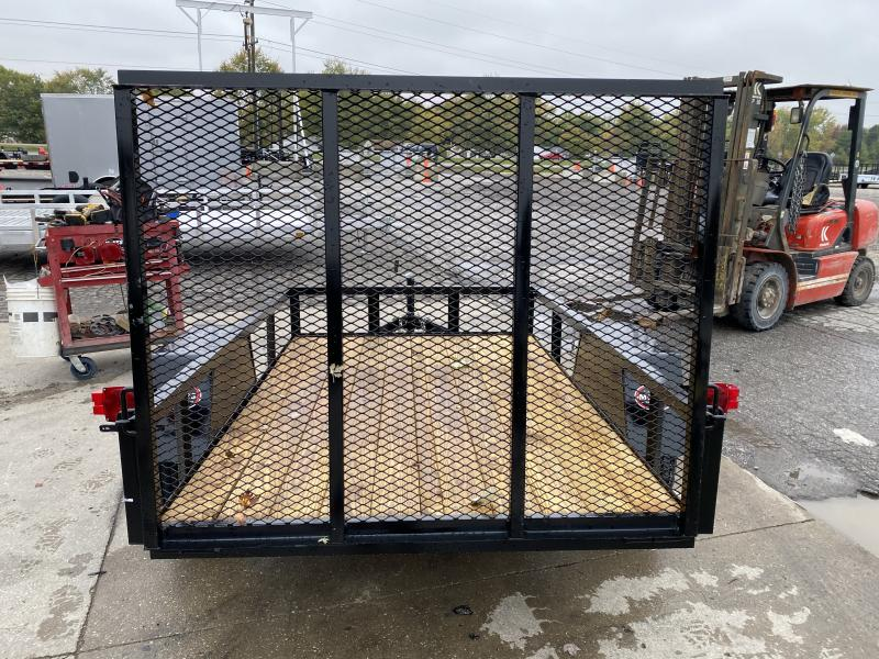 2021 American Manufacturing Operations (AMO) US081 Utility Trailer - 60x8 SAUT - Tailgate - 2 Inch Coupler (GVW:  2990)