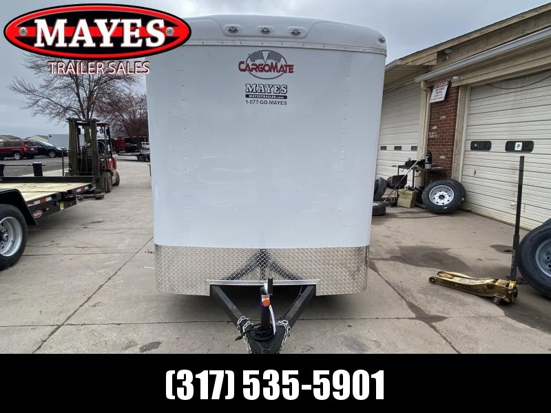 2022 Cargo Mate BL612SA Enclosed Cargo Trailer - 6x12 SA - Ramp Door - Torsion Axles - 6 Inch Additional Height (GVW:  2990)