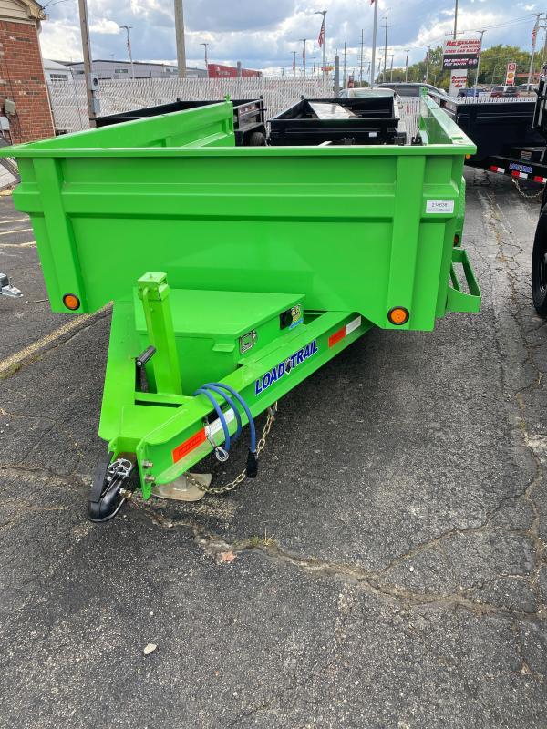 2021 Load Trail DT7212052 Dump Trailer - 72x12 TA Dump - Slide In Ramps - 3 Way Gate - Scissor Hoist - Tarp Kit - Spare Tire and Mount (GVW:  9990)