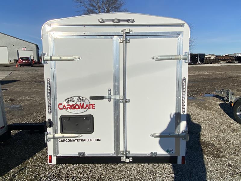 2021 Cargo Mate BL58SA Enclosed Cargo Trailer - 5x8 SA - Single Rear Door - 2 Inch Coupler - Spring Suspension (GVW:  2990)