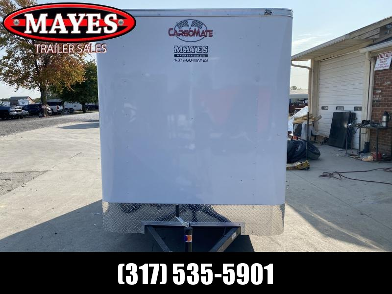 2021 Cargo Mate SSV612SA Enclosed Cargo Trailer - 6x12 SA - Ramp Door - 6 Inch Additional Height (GVW:  2990)