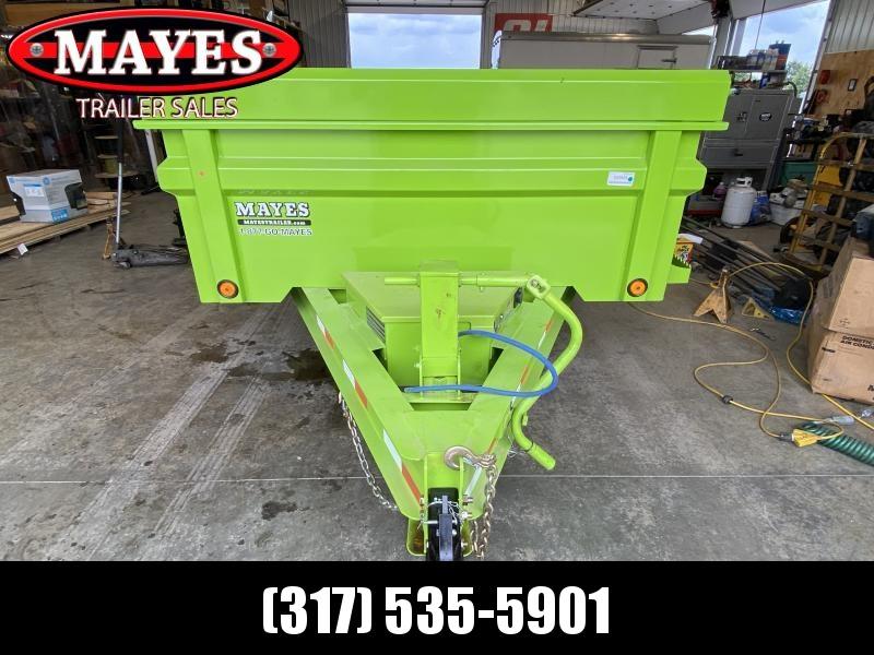 2022 Load Trail DT8314072 Dump Trailer - 83x14 TA - 24 Inch Dump Sides - 2 Way Gate - Slide In Ramp - Scissor Hoist - Spare Tire MOUNT ONLY (GVW:  14000)