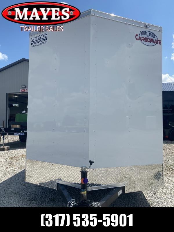 2022 Cargo Mate SSV610SA Enclosed Cargo Trailer - 6X10 SA - Double Door - Spring Suspension - 6 Inch Additional Height (GVW:  2990)