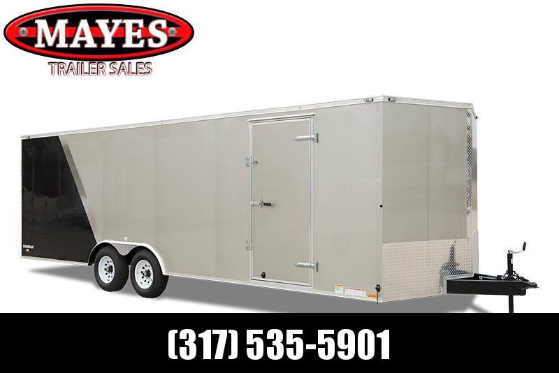 2021 Cargo Mate EHW8520TA2 Enclosed Cargo Trailer - 8.5x20 TA - Ramp Door - Side Door - Additional Floor Crossmembers (16 Inch O/C) (GVW:  7000)