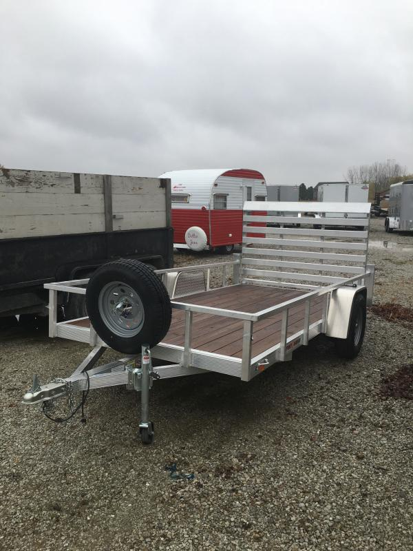 2020 Sport Haven AUT612 Utility Trailer - 6x12 SAUT - Full Tailgate - Treated Wood Floor - 15 Inch Tires and Wheels (GVW:  2990)