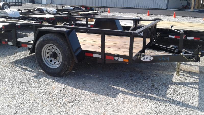2019 76x10  Tilt Deck American Manufacturing Operations (AMO) UF121 Utility Trailer