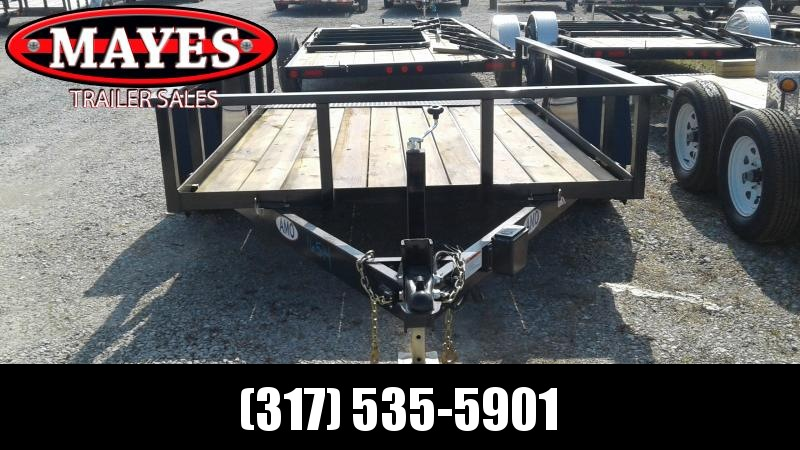 2019 76x10  Tilt Deck American Manufacturing Operations (AMO) UF121 Utility Trailer
