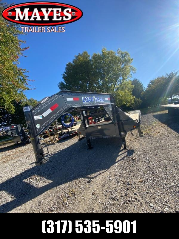 2021 Load Trail GP0228102 Equipment Trailer - 102x28 (23+5) TA - Self Clean Dovetail - Max Ramps - Tool Box - Max Steps (GVW:  22000)