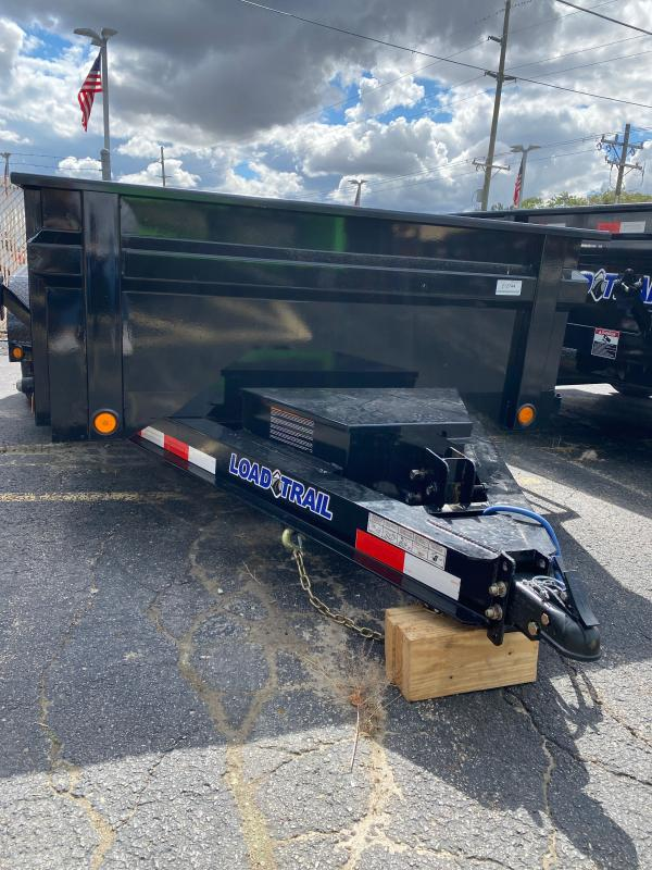 2021 Load Trail DT7212052 Dump Trailer - 72x12 TA Dump - 24 Inch Dump Sides with 3 Way Gate - Scissor Hoist - Tarp Kit - Ramps - Spare Tire and Mount (GVW:  9880)
