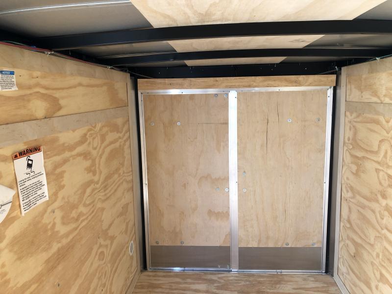 2020 5x8 SA Cargo Mate EHW58SA Enclosed Cargo Trailer - Double Door - Tapered Nose (GVW:  2990)