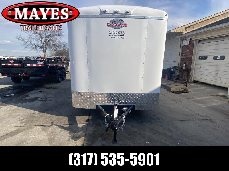 2021 Cargo Mate BL714TA2 Enclosed Cargo Trailer - 7x14 TA - Ramp Door - Torsion Axles - Aluminum Roof (GVW:  7000)