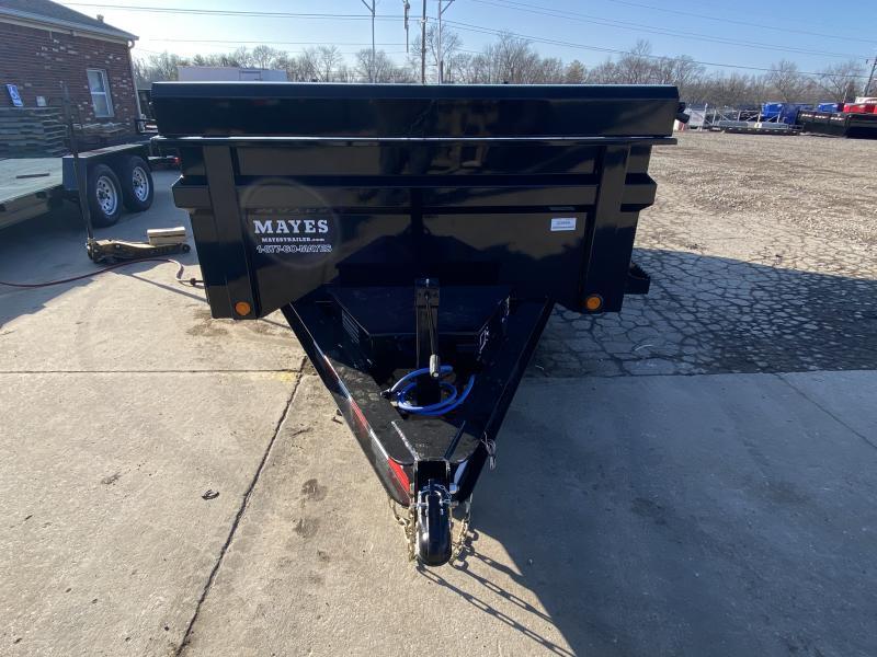 2021 Load Trail DT7212052 Dump Trailer - 72x12 TA - 24 Inch Dump Sides - 2-Way Gate - 10 Gauge Floor - Slide In Ramps - D-Rings - Scissor Hoist - Spare Tire MOUNT ONLY (GVW:  9990)