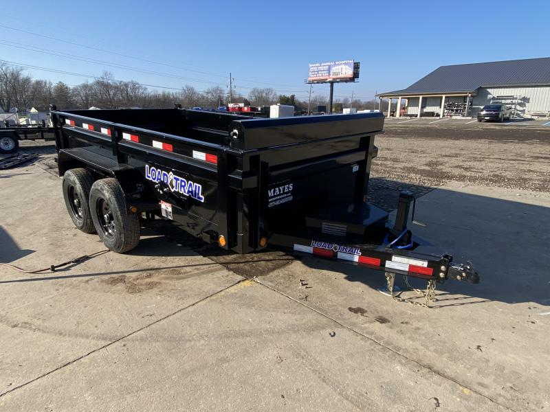 2021 Load Trail DT7212052 Dump Trailer - 72x12 TA - 24 Inch Dump Sides - 2-Way Gate - 10 Gauge Floor - Slide In Ramps - D-Rings - Scissor Hoist - Spare Tire MOUNT ONLY (GVW:  9990)