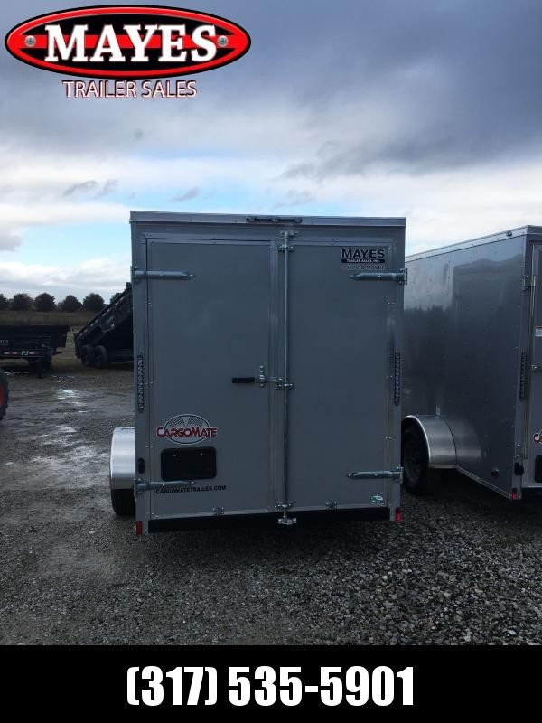 2021 Cargo Mate SSV612SA Enclosed Cargo Trailer - 6x12 SA - Double Door - 6 Inch Additional Height - Flat Front (GVW:  2990)