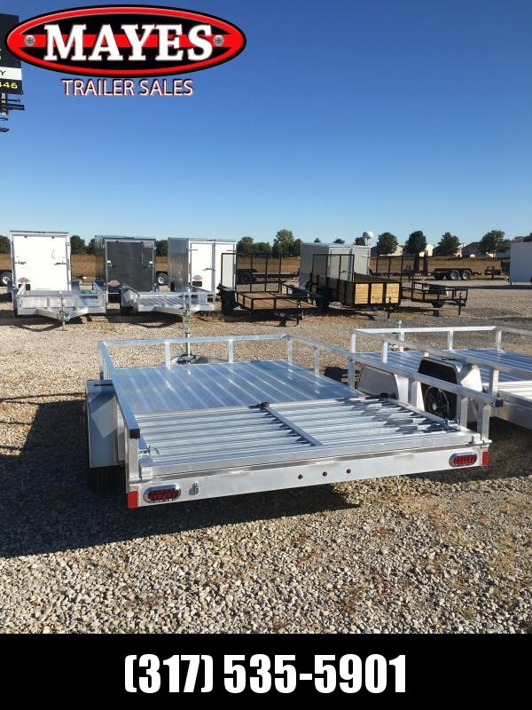 2021 Sport Trail OUA712 Utility Trailer - 7x12 SAUT - Alum. Floor - Rear Ramp Gate with Dual Locking Positions - Rear Gate Lays Flat (GVW:  2990)