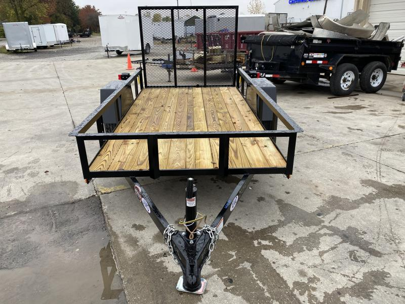 2021 American Manufacturing Operations (AMO) US101 Utility Trailer - 60x10 SAUT - Tailgate - 2 Inch Coupler (GVW:  2990)