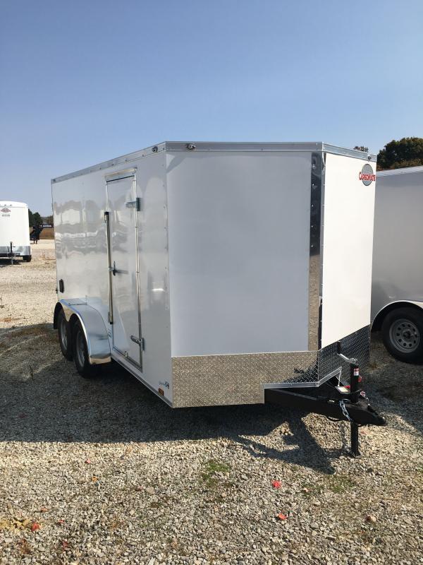 2021 Cargo Mate EHW714TA2 Enclosed Cargo Trailer - 7x14 TA - Double Door - Spring Suspension (GVW:  7000)