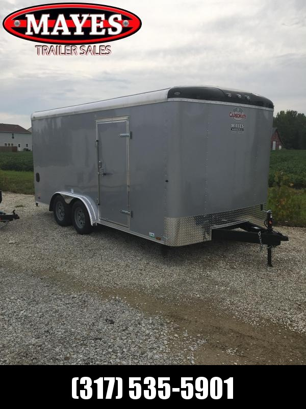 2021 Cargo Mate BL816TA2 Enclosed Cargo Trailer - 8x16 TA - Torsion - Ramp Door - Alum. Roof (GVW:  7000)