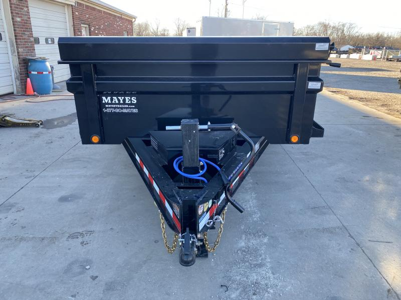 2021 Load Trail DT8314072 Dump Trailer - 83x14 TA Dump - 24 Inch Dump Sides - 2-Way Gate - Slide In Ramps - D-Rings - Scissor Hoist - Spare Tire MOUNT ONLY (GVW:  14000)