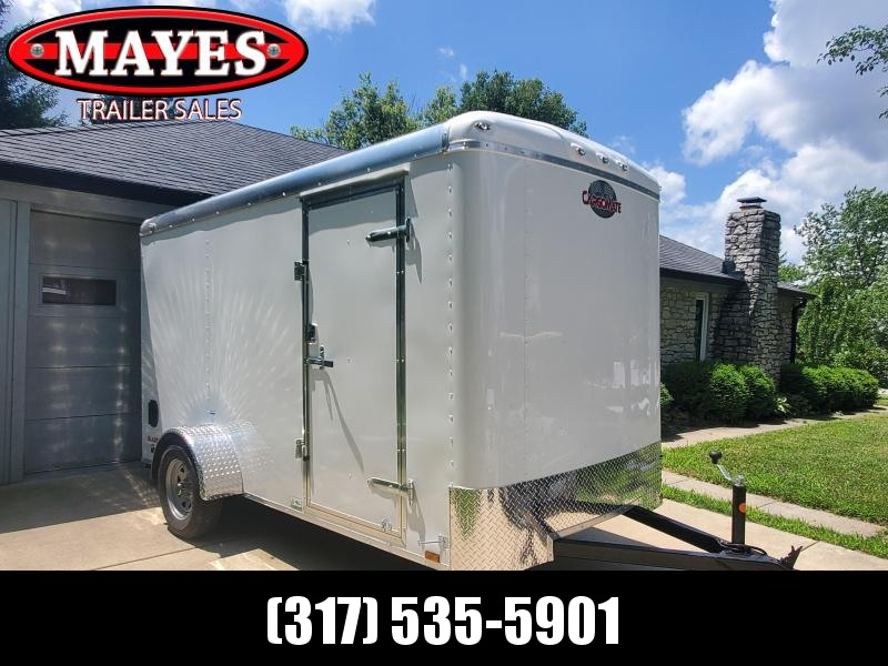 2021 Cargo Mate BL612SA Enclosed Cargo Trailer - 6x12 SA - Ramp Door - Torsion - 6 Inch Additional Height (GVW:  2990)