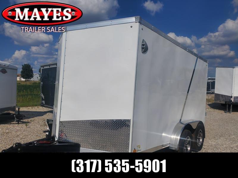 2021 Sport Trailers VECS712TA35-S Enclosed Cargo Trailer - 7x12 TA - Ramp Door - Side Door - LED Lights (GVW:  7700)