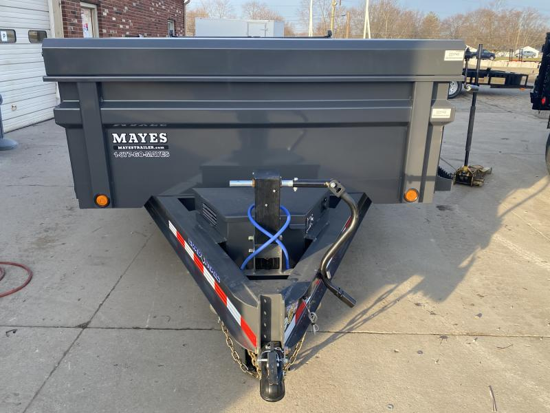 2021 Load Trail DT8314072 Dump Trailer - 83x14 TA - 24 Inch Dump Sides - 2-Way Gate - 10 Gauge Floor - Slide In Ramps - D-Rings - Scissor Hoist - Spare Tire MOUNT ONLY (GVW:  14000)