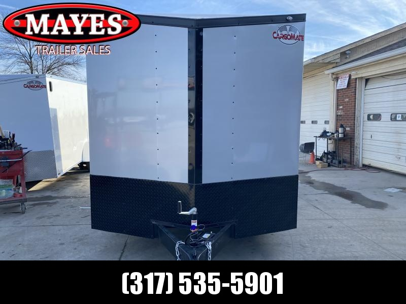 2021 Cargo Mate EHW716TA2 Enclosed Cargo Trailer - 7.5x16 TA - Ramp Door - 7.5 Wide Body Design Upgrade - Black Out Package - Aluminum Roof (GVW:  7000)