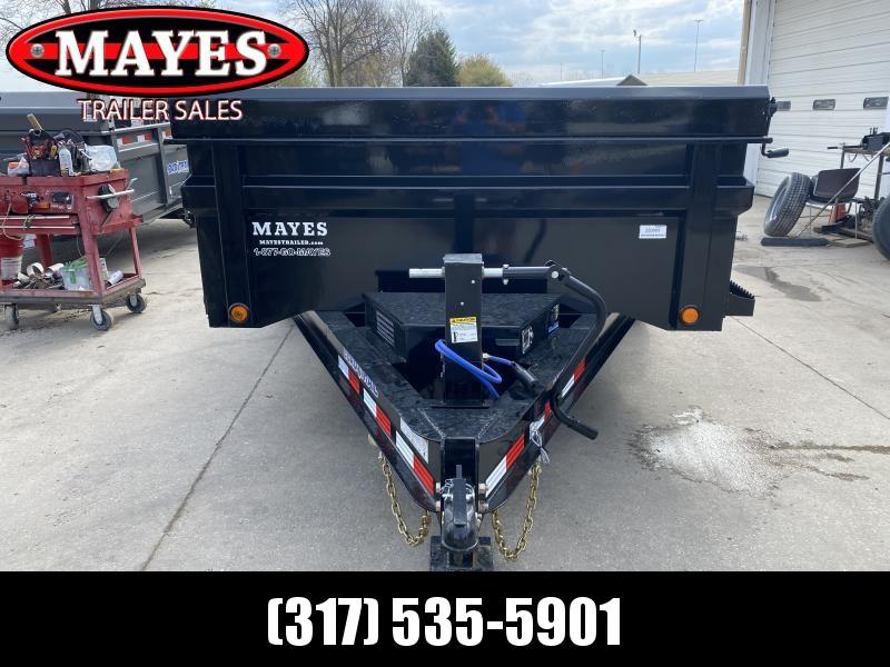 2021 Load Trail DT8314072 Dump Trailer - 83X14 TA - Scissor Hoist - Slide In Ramps - 24 Inch Dump Sides - 2-Way Gate - Spare Tire MOUNT ONLY (GVW:  14000)