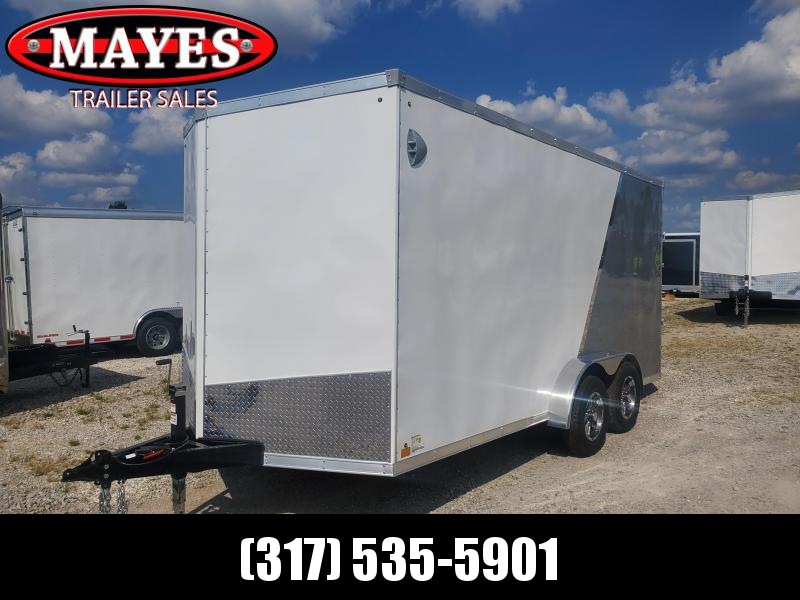 2021 Sport Trailers VECS716TA35-S Enclosed Cargo Trailer - 7x16 TA - Ramp Door - Side Door - 6 Inch Additional Height - Alum. Roof (GVW:  7700)