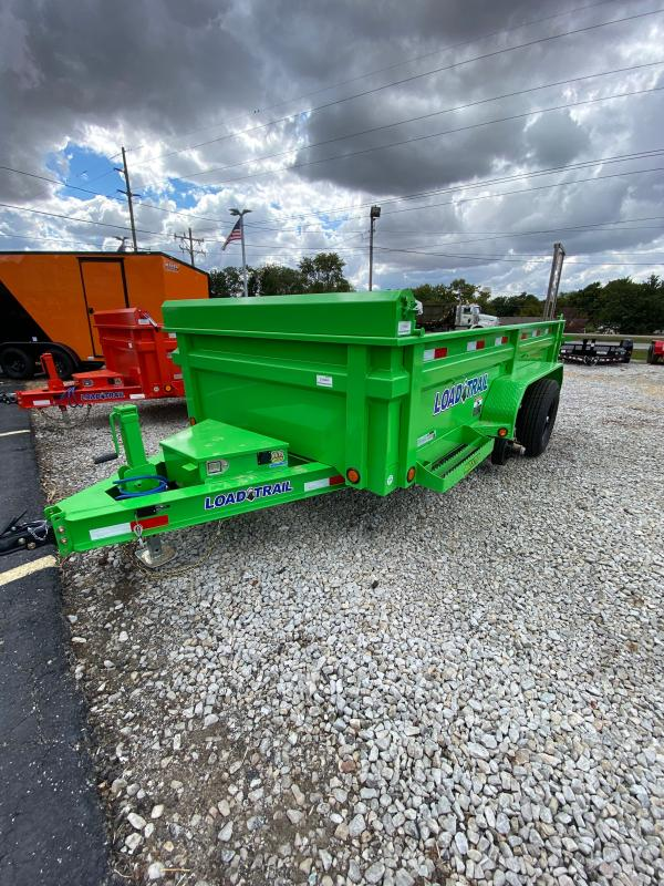2021 Load Trail DT7212052 Dump Trailer - 72x12 TA Dump - Ramps - 3-Way Gate - Scissor Hoist - Tarp Kit - Spare Tire and Mount (GVW:  9990)