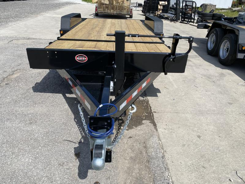 "2021 B-B TBCT2016ET Equipment Trailer - x20' (4+16) TA Partial Tilt Trailer - Torflex Axles - Pallet Fork Holders - 12"" O/C Crossmembers (GVW:  16000)"