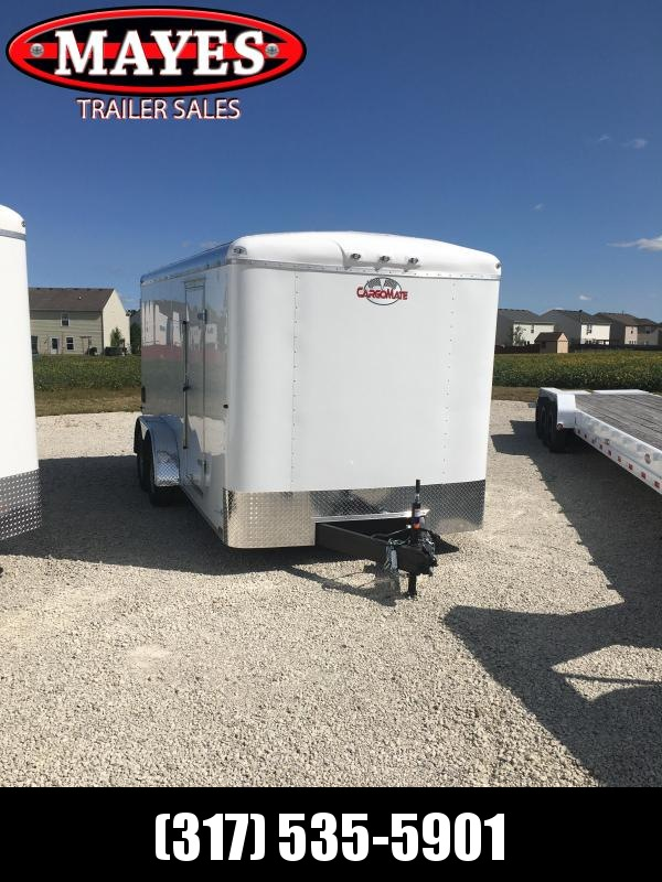 2021 Cargo Mate BL716TA2 Enclosed Cargo Trailer - 7x16 TA - Double Door with Dual Cambars - Aluminum Roof - Torsion Axles (GVW:  7000)