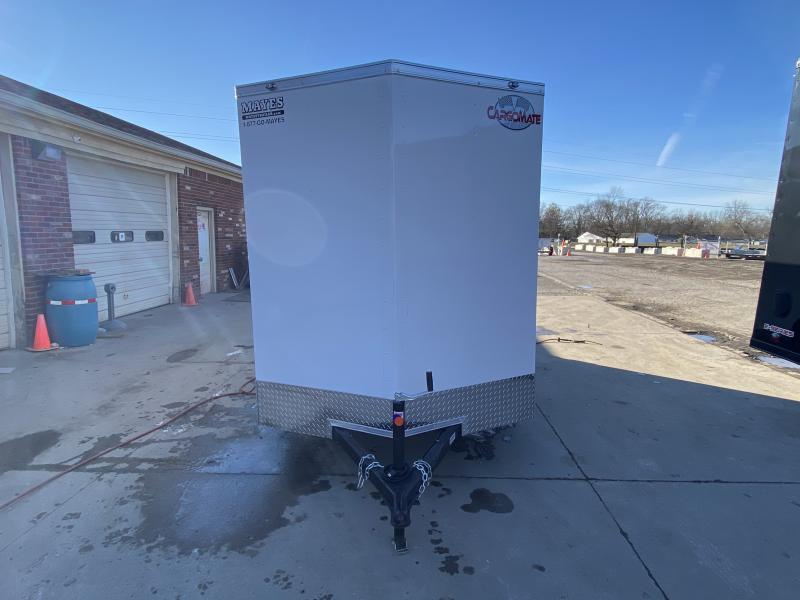 2021 Cargo Mate SSV612SA Enclosed Cargo Trailer - 6x12 SA - Ramp Door - 6 Inch Additional Height - Side Door (GVW:  2990)
