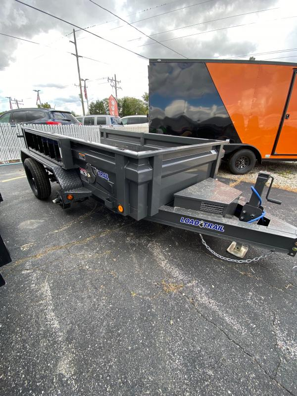 2021 Load Trail DT6010032 Dump Trailer - 60x10 TA Dump - Side Mount Ramps - Tarp Kit - Scissor Hoist - 3-Way Gate - Spare Tire MOUNT ONLY (GVW:  7000)