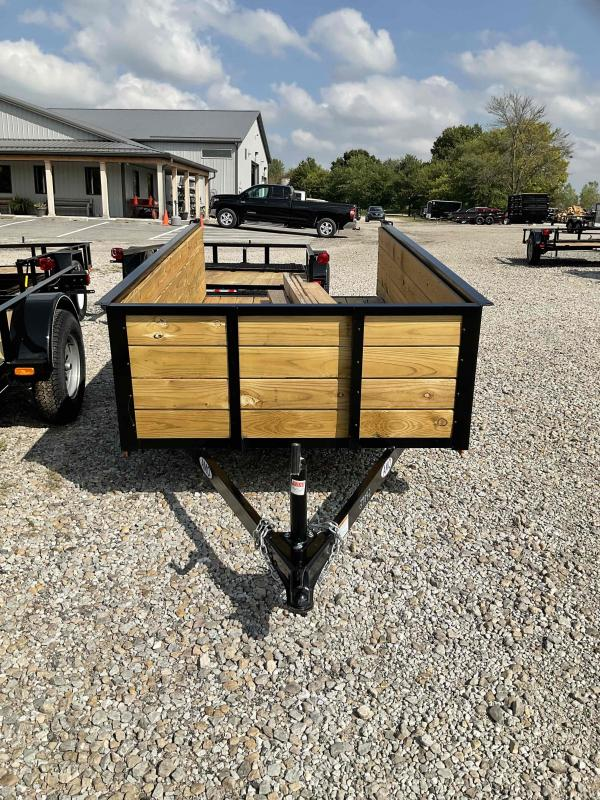 2021 American Manufacturing Operations (AMO) US101 Utility Trailer - 60X10 SA - High Sides - Tailgate - 15 Inch Tires and Wheels (GVW:  2990)