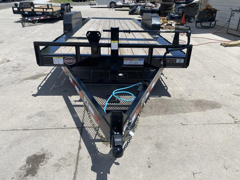 "2020 83x20(16' Tilt + 4' Stationary) PJ Trailers TJ HD Equipment Tilt 6"" Channel Trailer - (GVW: 16000)"