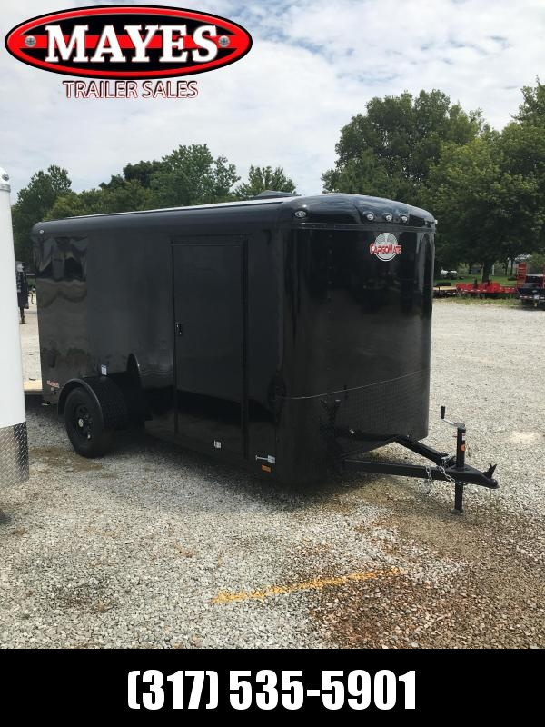 2021 Cargo Mate BL612SA Enclosed Cargo Trailer - 6x12 SA - Ramp Door - Torsion - Black Out Package (GVW:  2990)
