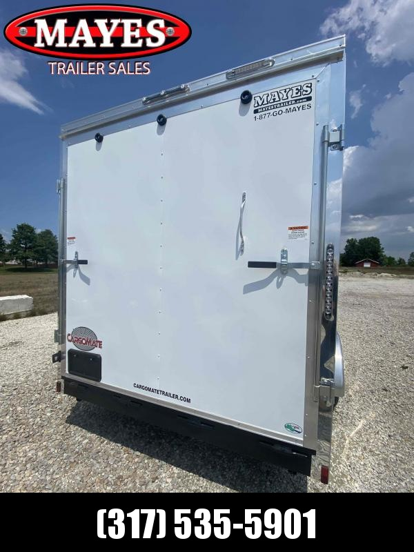 2022 Cargo Mate EHW716TA2 Enclosed Cargo Trailer - 7X16 TA - Side by Side Package - 12 Inch Additional Height - Ramp Door (GVW:  7000)