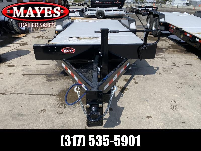 2021 B-B TBCT2016ET Equipment Trailer - 83x20 (4+16) TA Tilt - Pallet Fork Holders - Torflex Axles - 12 Inch O/C Crossmembers - Pintle Hitch (GVW:  16000)