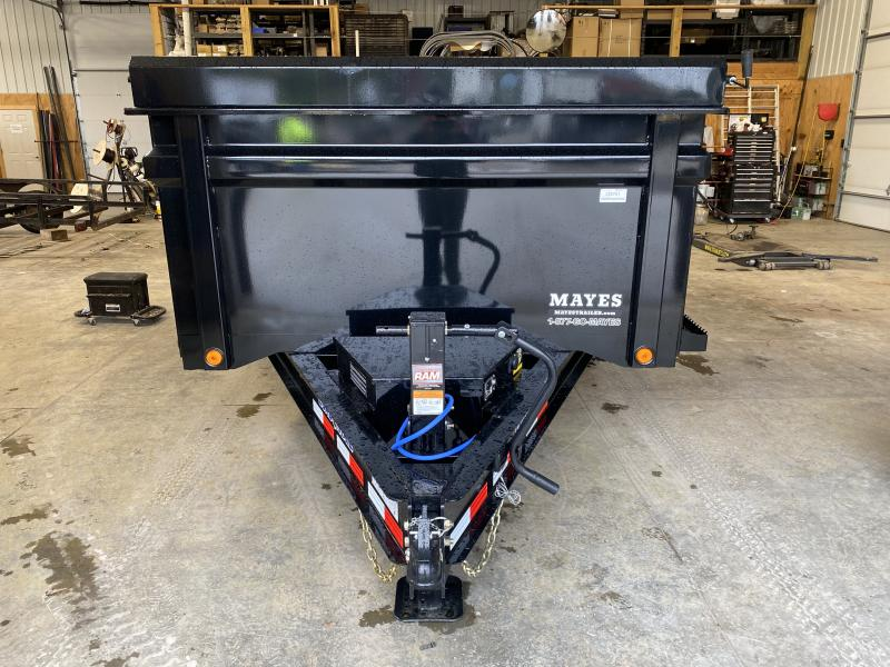 2022 Load Trail DT142 Dump Trailer 83x14 With 3' Sides TA (GVW:14000)