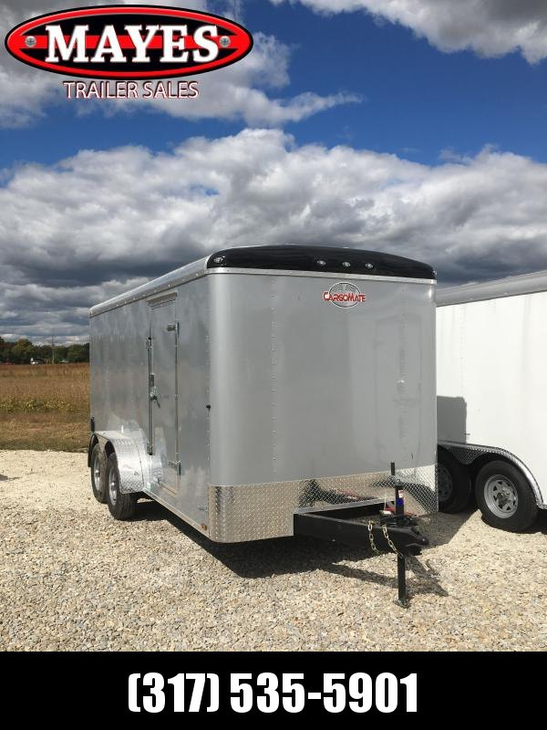 2021 Cargo Mate BL716TA3 Enclosed Cargo Trailer - 7x16 TA - Ramp Door - Torsion Axles - Aluminum Roof (GVW:  9800)