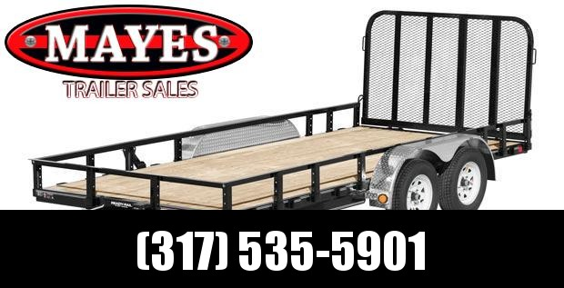 2021 PJ Trailers UL182 Utility Trailer - 83x18 (16+2) TA - Tailgate - Dovetail - ATV Ramps - Treated Wood Floor (GVW:  7000)