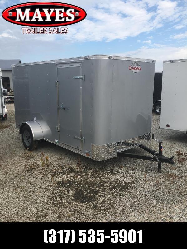 2021 Cargo Mate SS612SA Enclosed Cargo Trailer - 6x12 SA - .030 Metal Upgrade - Ramp Door - 6 Inch Additional Height (GVW:  2990)
