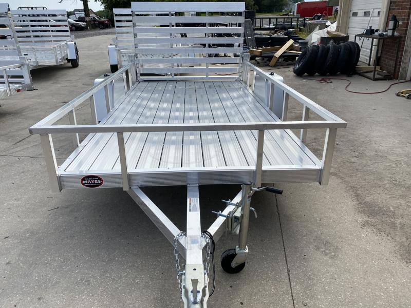 "2021 Sport Haven AUT612D Utility Trailer - 6x12 SAUT - Aluminum Floor - Tailgate - 15"" Tires and Wheels (GVW:  2990)"