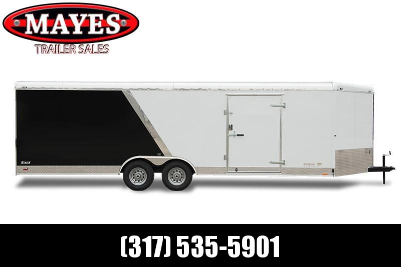 2021 Cargo Mate BL818TA2 Enclosed Cargo Trailer - 8x18 TA - Ramp Door - HD Cage Package - Torsion Axles - Alum. Roof (GVW:  9800)