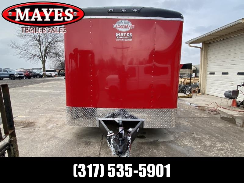 2021 Cargo Mate BL820TA3 Enclosed Cargo Trailer - 8x20 TA - Double Door - Torsion Axles - 6 Inch Additional Height - 54 Inch Ext. Triple Tube Tongue (GVW:  9800)