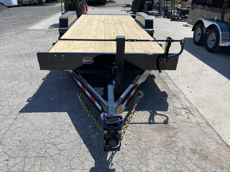 "2021 B-B TBCT2020ET-10K Equipment Trailer - 20' (4+16) TA Partial Tilt Trailer - Torflex Axles - Pallet Fork Holders - 12"" OC Crossmemers - Fender Guides (GVW:  20000"