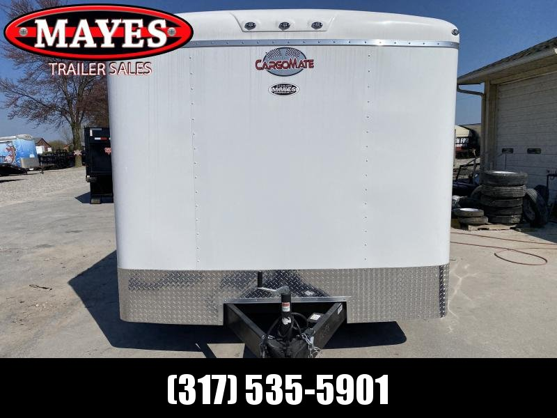 2020 102x20 TA Cargo Mate BL820TA2 Enclosed Cargo Trailer - Torsion - Ramp Door - D-Rings - 102 Inch Wide Body Design - No-Show Beavertail (GVW:  7000)