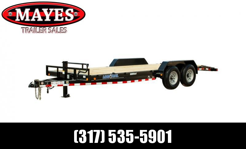 2021 Load Trail CH0236072 Equipment Trailer - 102x36 (34+2) TA - 8 Inch Channel Frame - Rear Slide In Ramps - Spare Tire MOUNT ONLY - Drive Over Fenders - D-Rings (GVW:  14000)